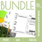 Developing Research Questions Bundle