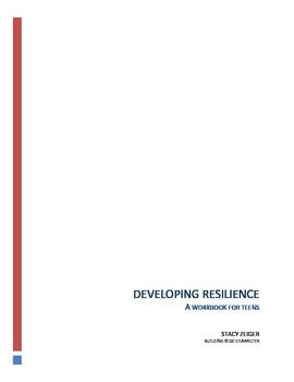 Developing Resilience In Teens And >> Developing Resilience A Workbook For Teens By Building Kids Character
