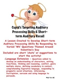 Developing Short-term Memory & Language Skills 'Valentine's Day Theme'