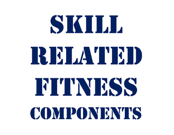 Developing Skill Related Fitness Components Unit