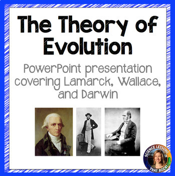 Developing The Theory of Evolution SMART notebook presentation