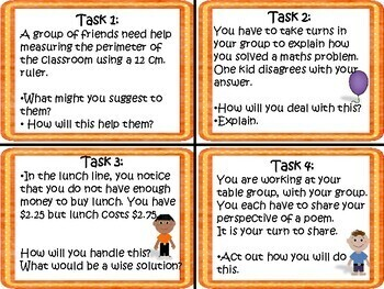 Developing Thinking Skills Task Cards for the IB PYP