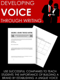 Developing Voice: Real World Activity