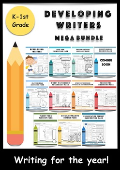 IPAD APPS INCLUDED   Developing Writers Mega Bundle