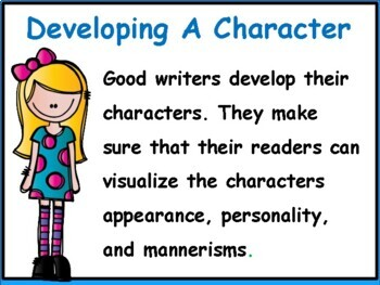 Developing Your Character Power Point