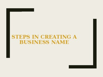 Developing a Business Name for Marketing, Sports Marketing or Management