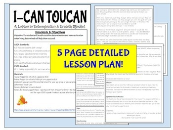 "Developing a Growth Mindset- ""I-Can Toucan"""