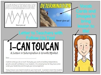 """Developing a Growth Mindset- """"I-Can Toucan"""""""