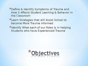 Developing a Trauma-Informed School Climate