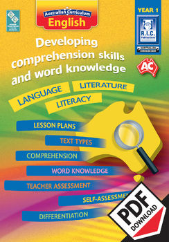 Developing comprehension skills and word knowledge – Year 1