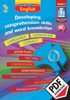 Developing comprehension skills and word knowledge – Year 2