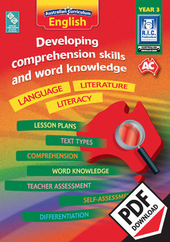 Developing comprehension skills and word knowledge – Year 3