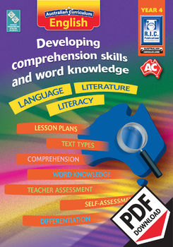 Developing comprehension skills and word knowledge – Year 4