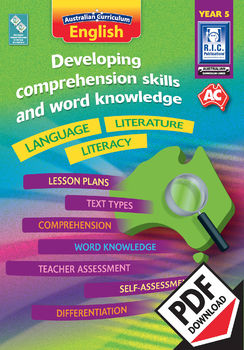 Developing comprehension skills and word knowledge – Year 5