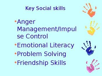 Developing social skills for children with SEN