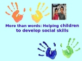 Developing social skills for children with SEN