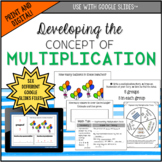 Developing the Concept of Multiplication: Print and Digital
