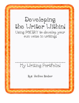 Developing the Writer Within:  Using Poetry!