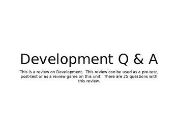 Development Q & A