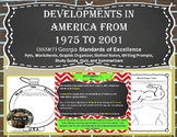 Development in America from 1975 - 2001 SS5H7