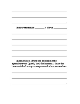 Development of Agriculture Opinion Essay