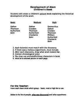 Development of Atom Children's Book Project