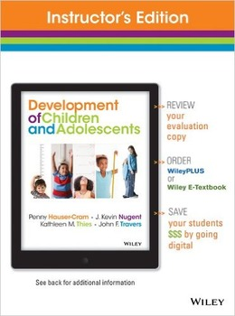 Development of Children and Adolescents