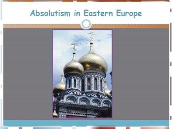 Development of Eastern Absolutism