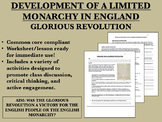 Development of Limited Monarchy in England - Glorious Revolution - Global/World