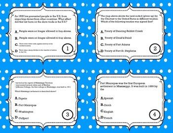 Development of Mississippi Task Cards