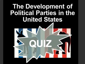 Development of Political Parties Quiz