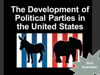 Development of Political Parties in the U.S.
