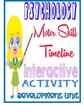 Development unit motor skill timeline activity for psychology