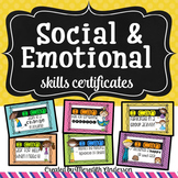 Social and Emotional Skills Certificates