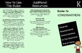 Developmental Characteristics of K-6 Children: Trifolds fo