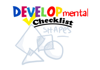 Developmental Checklist Cover