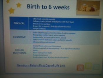 Developmental Growth Presentation - Birth to Six Years