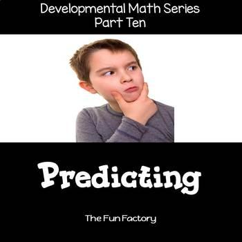 Making Predictions ~ Developmental  Math Skills {PK/K} -