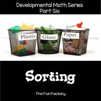 Developmental  Math Skills {PK/K}  - Sorting