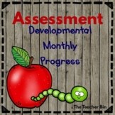 Kindergarten - Special Education - Assessment Developmental Monthly Progress