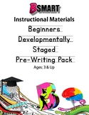 Developmental Pre-Writing and Beginner' Printing Packets