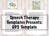 Developmental Profile 3 (DP-3) Template | Speech Therapy A