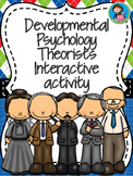 Developmental Psychology Theorists Interactive activity