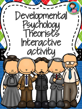 Developmental Psychology Theorists Interactive activity
