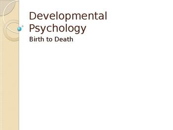 Developmental Psychology (a Christian perspective)