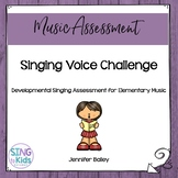 Developmental Singing Voice Assessment