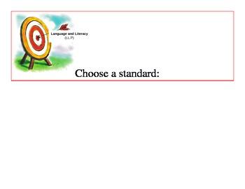 Developmental Standards for Preschool Children for Target Wall