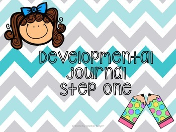 Developmental writing journal for beginning writers (Kindergarten)