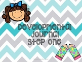 Developmental writing journal for beginning writers (Kinde