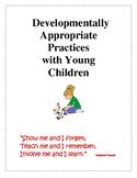 Developmentally Appropriate Practice Information Materials